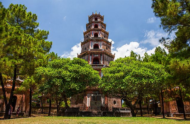 Thien Mu Pagoda - Tour Hue From Danang