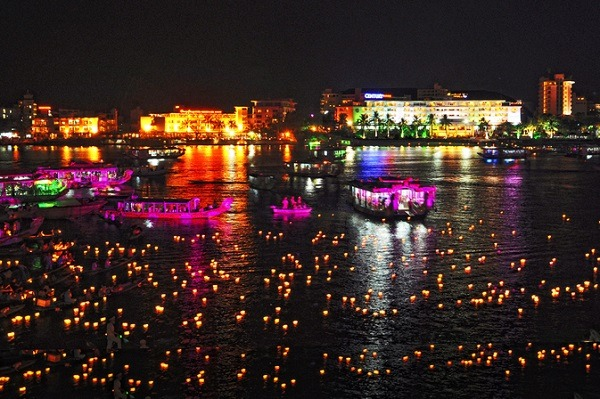 Perfume River At Night