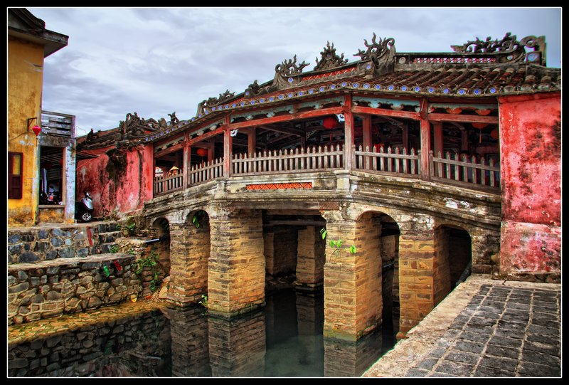 Japanese Covered Bridge, Hoi An, Viet Nam